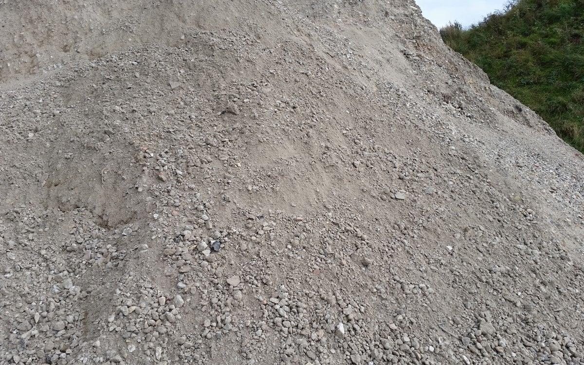 Knust beton i stedet for stabilgrus
